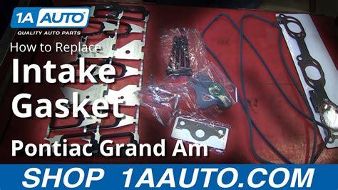 part      install replace  intake manifold