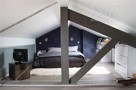 chambre sous pente de toit chambre sous toit une chambre avec salle de bains sous