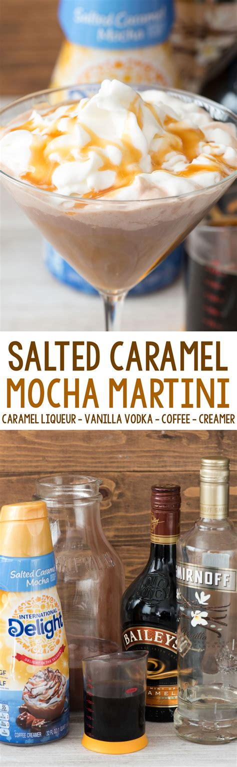 salted caramel mocha martini an easy cocktail recipe made in minutes make it for one or make