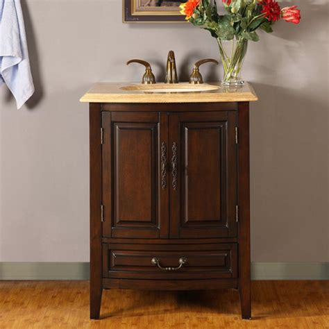 27 Bathroom Vanity With Sink 27 Inch Single Sink Vanity With Counter Led Lighting