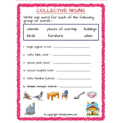 english collective nouns worksheet 5 grade 2 estudynotes
