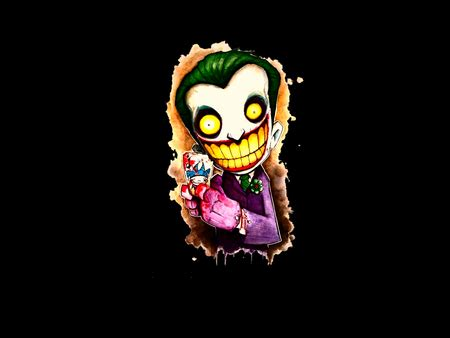 Abstract Joker Wallpaper by The Joker Other Abstract Background Wallpapers On