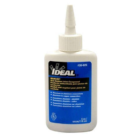 copper faucets kitchen ideal noalox 4 oz anti oxidant compound 30 026 the home