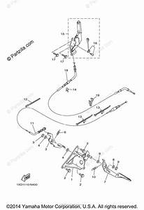 Yamaha Side By Side 2015 Oem Parts Diagram For Pedal Wire