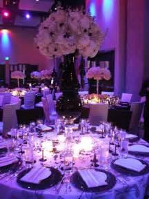 wedding reception centerpieces ideas purple wedding venue decorations