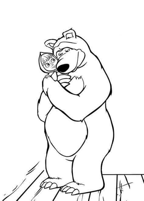 disegni di mascia e orso da colorare 99 disegni di masha e orso da colorare pianetabambini it