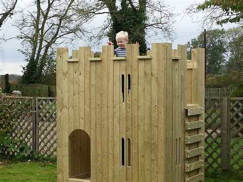 product childrens wooden castle playhouse