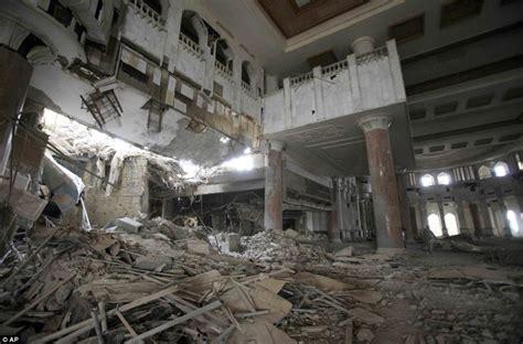 U.S. Army vacating Saddam Hussein's 75 glittering palaces
