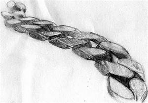 Silver Chain Necklace, Sketch - Pencil Drawing by ...