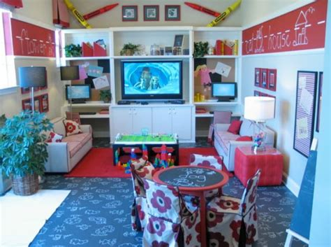 Living Room Playroom : Five Kids' Playroom Ideas To Inspire
