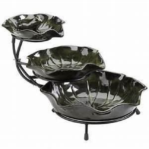 Fontaine De Jardin Pas Cher : fontaine cascade solaire lilypad achat vente fontaine ~ Carolinahurricanesstore.com Idées de Décoration