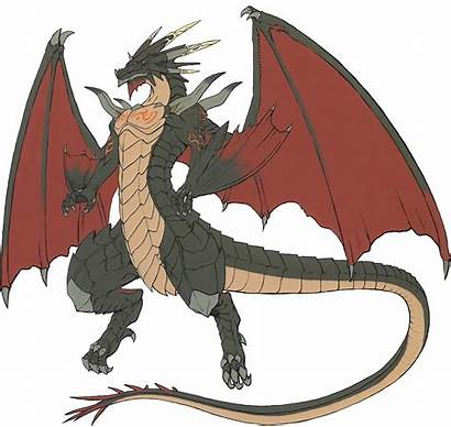 Dragon Concept Anthro Wiki Mythical Emblem Fire
