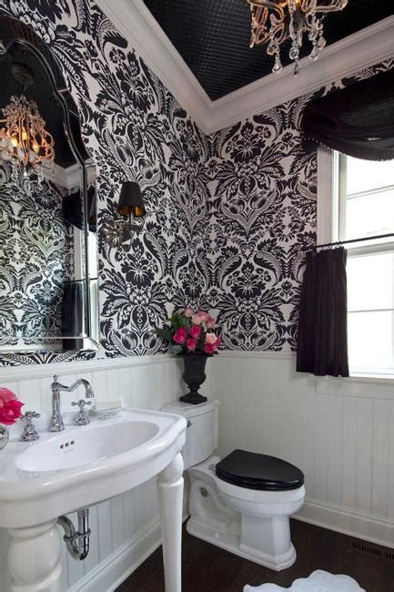 Modern Bathroom Wallpaper by Modern Bathroom Design And Decorating With Wallpaper
