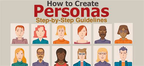 What Are & How To Create Personas Stepbystep Guidelines