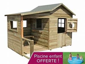 Cabane Exterieur Enfant : maison exterieur pour enfant pas cher cabanes abri jardin ~ Melissatoandfro.com Idées de Décoration