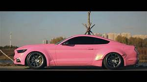 MV】Pink Mustang With Wide Body - YouTube