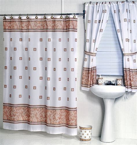 Shower Curtains by Carnation Home Fashions Inc Fabric Shower Curtains
