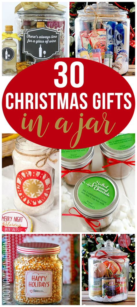 christmas gifts   jar unoriginal mom