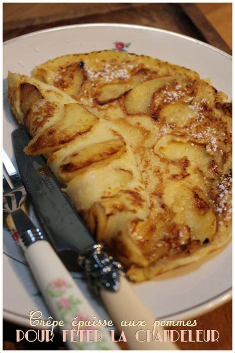 mytf1 cuisine laurent mariotte crêpe épaisse aux pommes pour la chandeleur recette de
