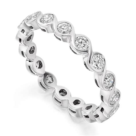 1 Carat Bezel Set Round Diamond Full Eternity Ring. Chainmail Watches. Uk Womens Watches. Diamond Necklace Pendant. Modern Pendant. Big Wedding Rings. Gold Bangle Collection. Peral Earrings. Lover Diamond