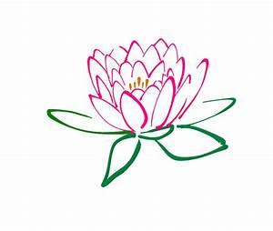 Pink Lotus Flower Clipart (39+)