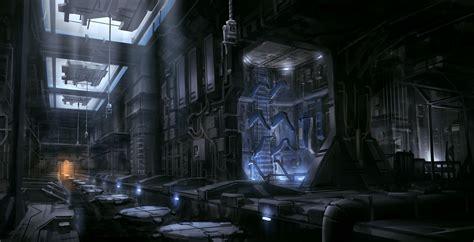 sci fi factory  joakimolofsson  deviantart