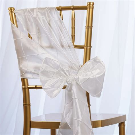 pintuck chair sashes bows ties banquet wedding reception decorations wholesale ebay