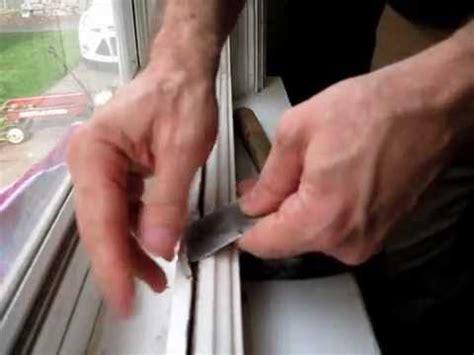 broken window pane replacement step  removing   glazing youtube