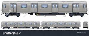 The gallery for --> Subway Train Side View