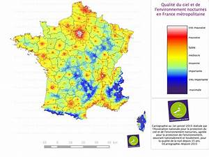 Carte France Pollution : no wilderness without complete night in the sky light pollution over france that 39 s it dark ~ Medecine-chirurgie-esthetiques.com Avis de Voitures