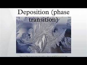 Deposition (phase transition) - YouTube