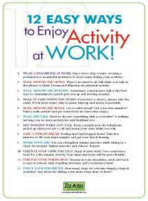 Workplace Wellness Activity Ideas