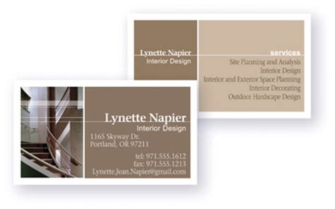 avery two side printable clean edge business cards for