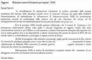 I primi effetti del cositing 3 Tim: H3G dimezza gli affitti Mondo3