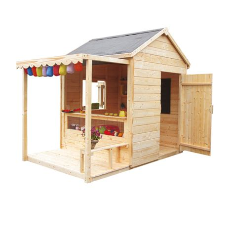maison bois enfant pas cher cabanes abri jardin