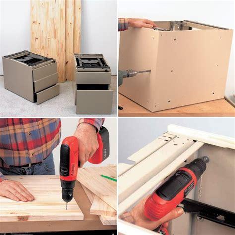 comment fabriquer un bureau comment fabriquer un bureau avec des caissons bricobistro