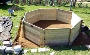 Preparation Terrain Pour Piscine Hors Sol Tubulaire : piscine hors sol bois conseils et astuces montage ~ Melissatoandfro.com Idées de Décoration