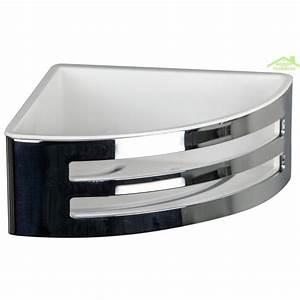 Porte savon d39angle panier a deux lucarnes novellini en for Porte savon d angle pour douche inox