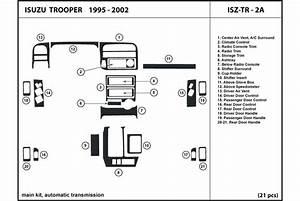 1998 Isuzu Trooper Dash Kits