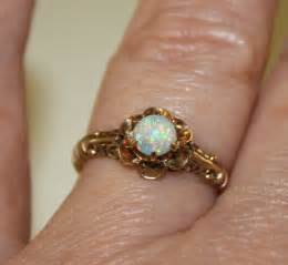 opal vintage engagement rings vintage opal and gold ring antique opal ring vintage engagement ring allsopp bliss the