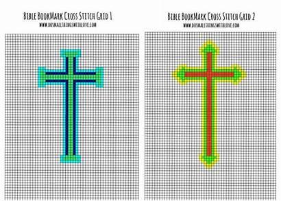 Stitch Cross Bible Bookmark Bookmarks Patterns Pattern