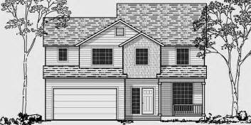 narrow lot 2 story house plans narrow lot house plans building small houses for small lots