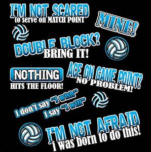 Fearless Volley... Short Volleyball Team Quotes
