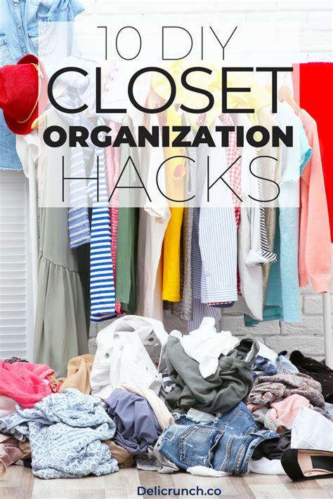 Diy Closet Organization Ideas On A Budget by Unique Diy Closet Organization Ideas On A Budget Ru97