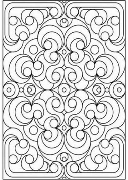 Coloring Patterns Printable Deco Pages Grown Ups