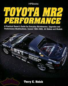 Mr2 Performance Toyota Book Owners Guide Manual Shop