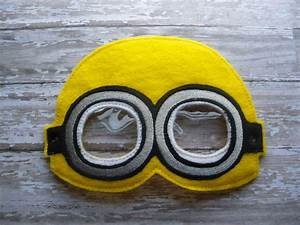5x7 yellow minion mask pattern ofnah With minion mask template