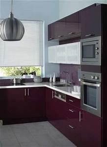 Cuisine Couleur Aubergine : besoin d idees pour ma cuisine ~ Premium-room.com Idées de Décoration