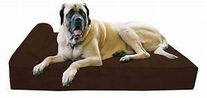 cozy dog beds for mastiff raised dog bed for mastiff big With big barker dog beds on sale