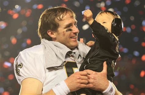 baylen brees  super bowl xliv zimbio